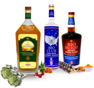 Bio Whiskey | Bio Club Vodka | Bio Delight Rum